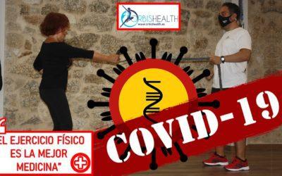 El ejercicio físico como prioridad en tiempos de pandemia.