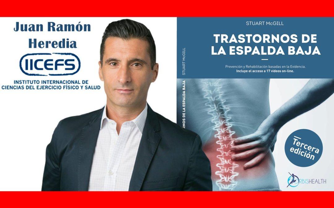 Reseña de Trastornos de la Espalda Baja: Juan Ramón Heredia (IICEFS)